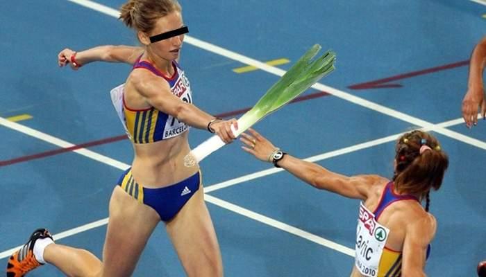 Atleţii olteni, excluşi de la olimpiada de la Rio, pentru că la ştafetă insistă să alerge cu un praz