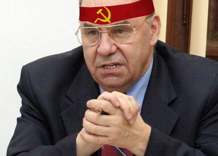 """Marga, discriminat la ICR! """"În propria mea ţară, nu pot purta bentiţă cu sigla Partidului Comunist"""""""