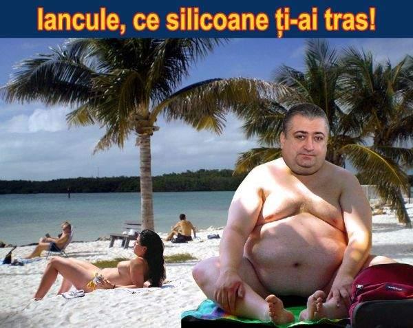 Marian Iancu a fost surprins de paparazzi făcând plajă topless