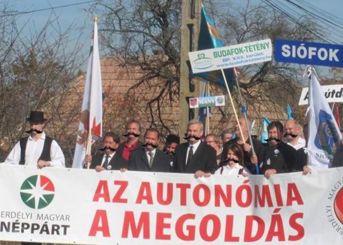 Cifre înşelătoare: 2 din 3 turişti străini care vizitează România sunt de fapt extremişti maghiari