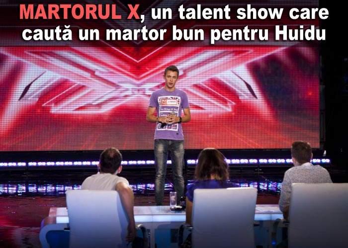 Prima TV lansează Martorul X, un concurs de martori pentru procesul lui Şerban Huidu