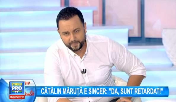"""Organizația Mondială a Sănătății: """"Uitatul la emisiunea lui Măruță este sigur cancerigen!"""""""
