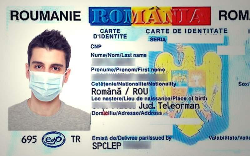Oficial! Toți românii trebuie să schimbe buletinul, să aibă poză cu mască
