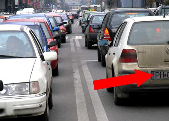 Poliţia rutieră introduce numere obligatorii de Alba şi Prahova pentru șoferii începători
