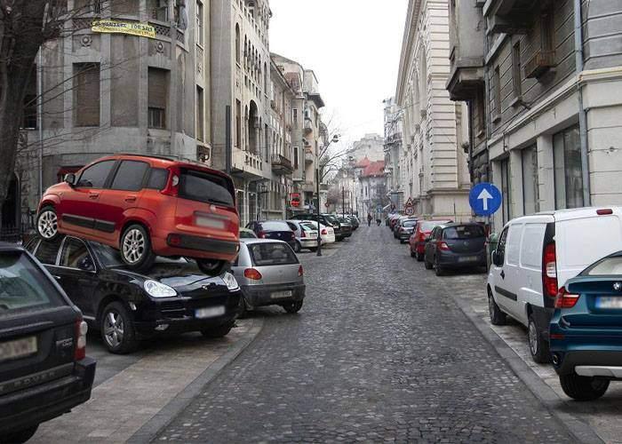 Veşti excelente pentru şoferii care n-au unde parca. La anul se construiesc 10 km de trotuare noi!