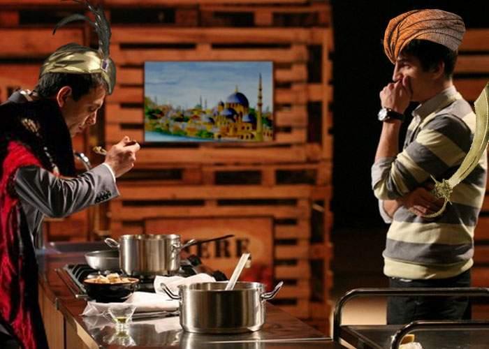 Concurenţii Master Chef, costumaţi în cadâne! Pro TV: Poate păcălim astfel pe cineva să se uite