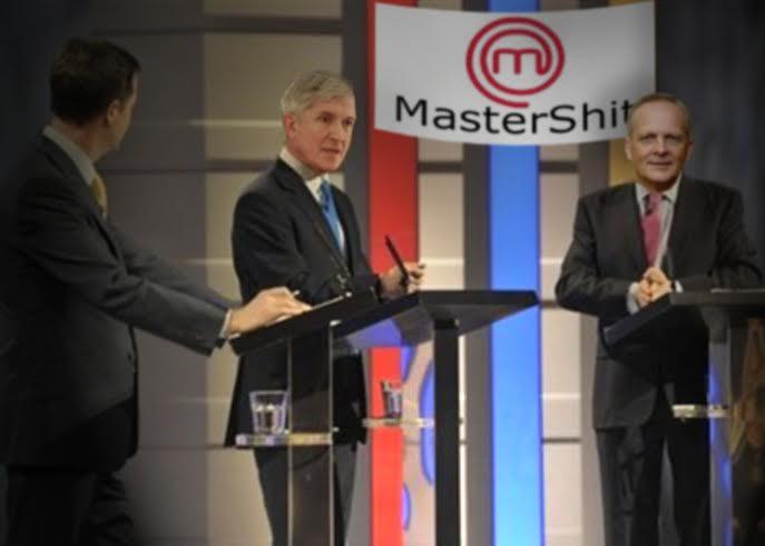 """Fiind campanie pentru europarlamentare, începe """"Mastershit""""! Politicienii se întrec în mâncat căcat"""