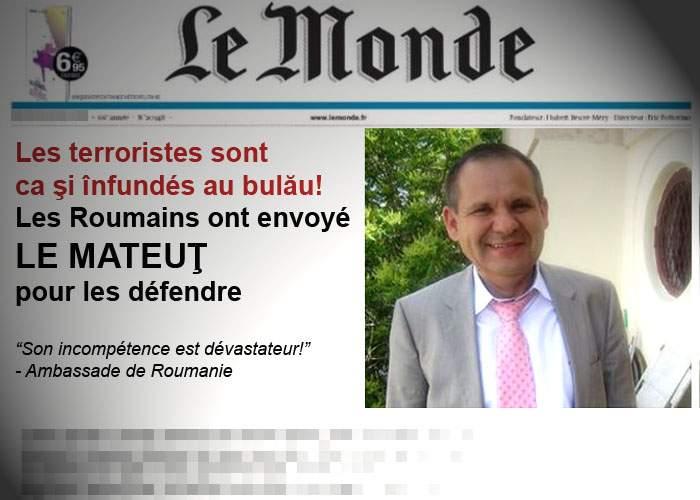 România, lovitură dură dată terorismului: l-a trimis pe Mateuț să-i apere pe cei doi atacatori