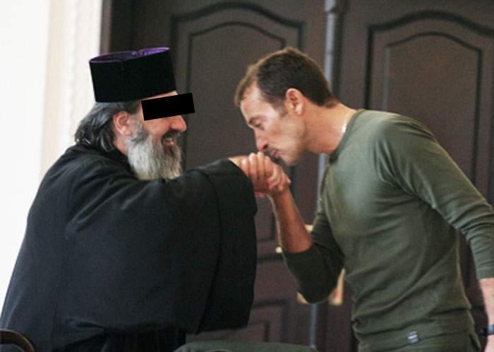 Har divin! Un preot a reuşit să-l aducă în ţară pe Mazăre ca să intre la el cu botezul