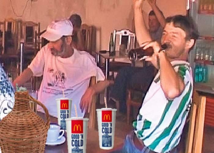 Trăiască înfrăţirea româno-americană! La Deveselu s-a construit primul McDonald's care dă ţuică