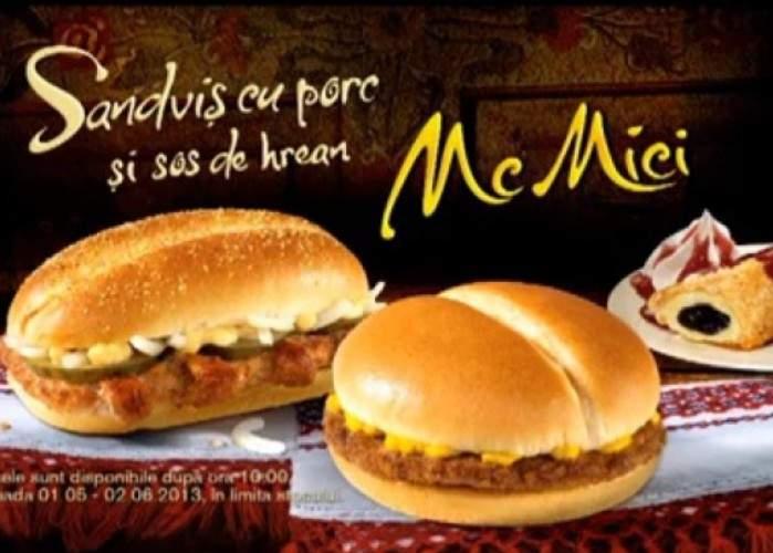 McDonald's linişteşte clienţii: Micii noştri nu vor conţine carne, sunt ideali pentru post