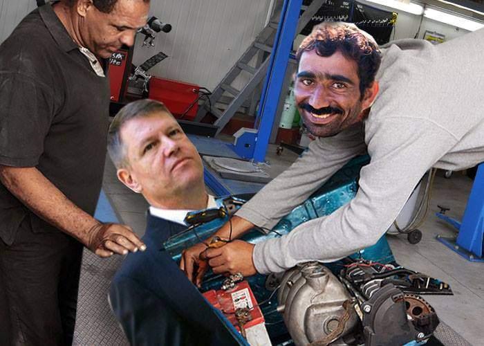 """Mecanicul auto care l-a operat pe Iohannis: """"I-am înlocuit pompa servo şi i-am făcut update la soft"""""""
