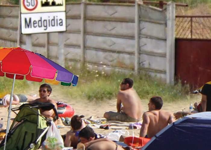 Aglomeraţie mare pe plajă! Un român care s-a trezit târziu a prins loc de prosop abia la Medgidia