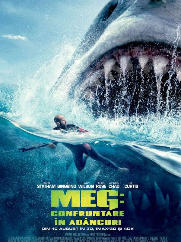The Meg 3D (2018) – Rupe-l pe genunchi, Statham!