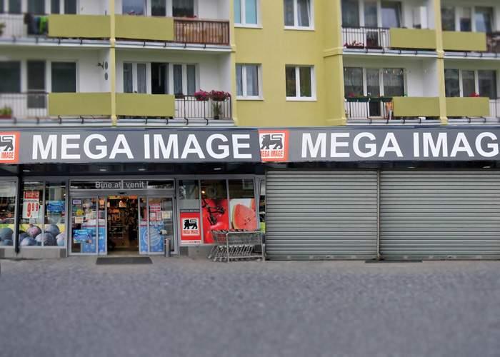 Un magazin Mega Image a fost închis, după ce a fost băgat în faliment de Mega Image-ul de lângă el