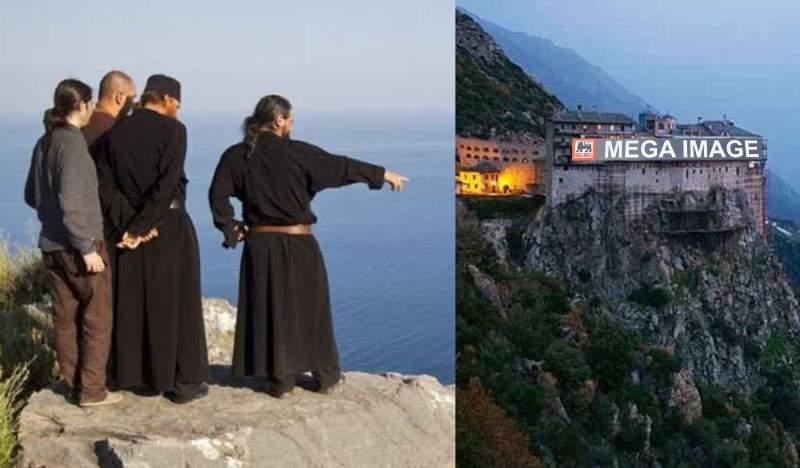 La cererea pelerinilor, România deschide un Mega Image pe Muntele Athos