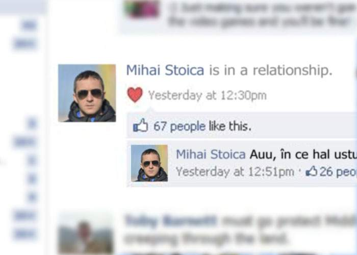 """Meme Stoica şi-a actualizat profilul de Facebook: """"In a relationship!"""""""