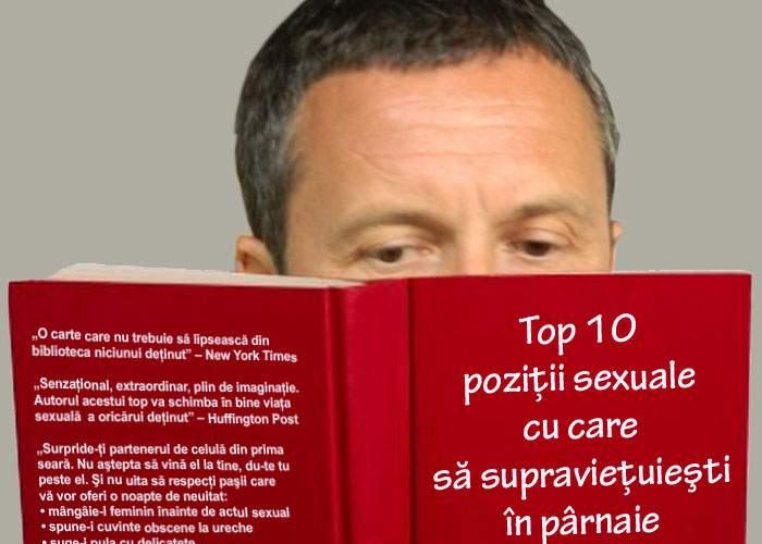 """Meme Stoica a început să citească """"Top 10 poziţii sexuale cu care să supravieţuieşti în pârnaie"""""""