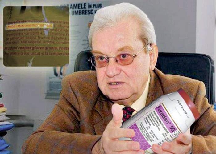 Doctorul Mencinicopschi îi avertizează pe sinucigași că Furadanul este plin de conservanți