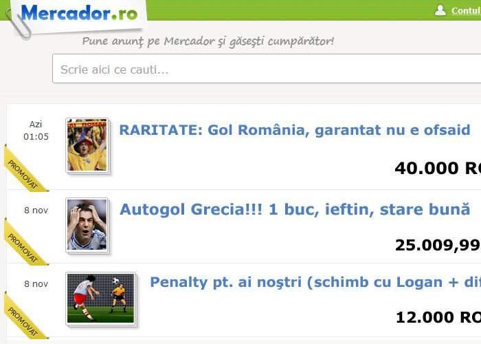 """Piţurcă ne linişteşte: """"Am cumpărat deja 3 goluri contra Greciei de pe Mercador.ro"""""""