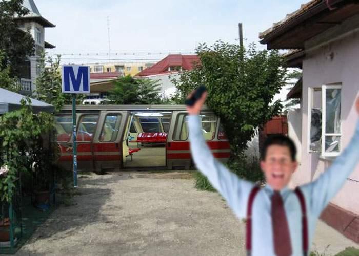 Sătul să aştepte, un locuitor din Drumul Taberei şi-a luat propriul său metrou de pe Mercador.ro