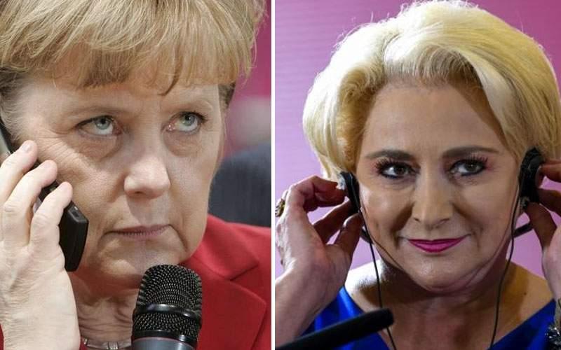Merkel a sunat-o pe Dăncilă s-o întrebe dacă poate să-i aranjeze un job la BNR