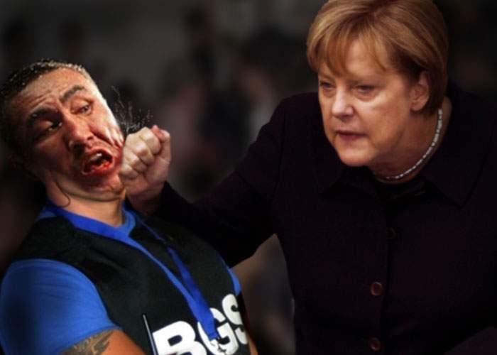 Scandal după congresul PPE: Angela Merkel a bătut 3 bodyguarzi ai unui club bucureştean