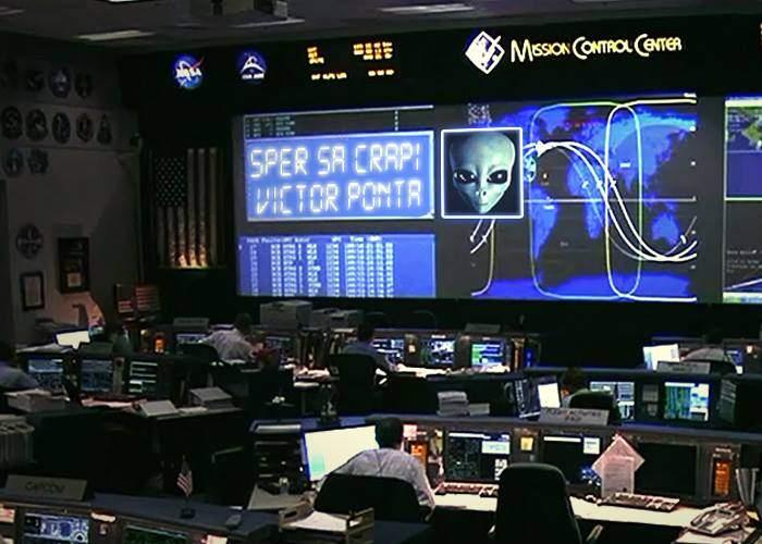 """NASA a anunțat că din spațiu au fost receptate câteva mii de mesaje """"Sper să crăpi, Victor Ponta!"""""""