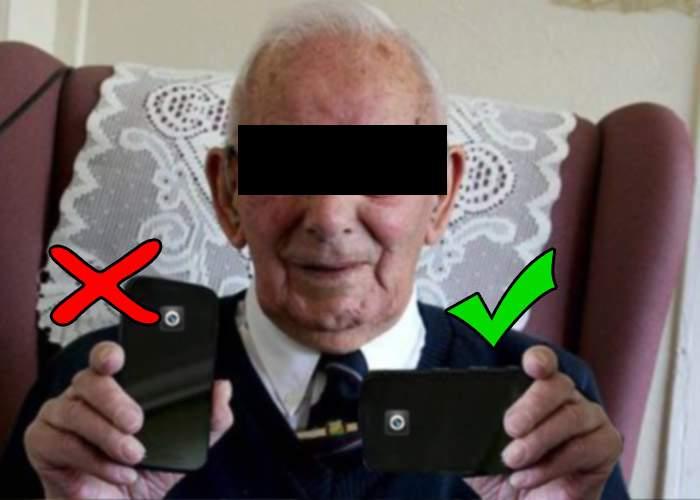 Meşteşuguri uitate! Doar câţiva bătrâni mai ştiu să ţină telefonul orizontal când filmează