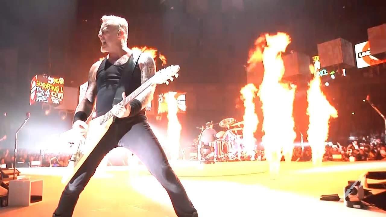 12 lucruri despre concertul Metallica