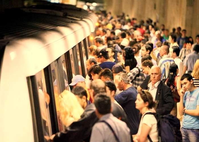 12 lucruri despre aglomeraţia de la metrou