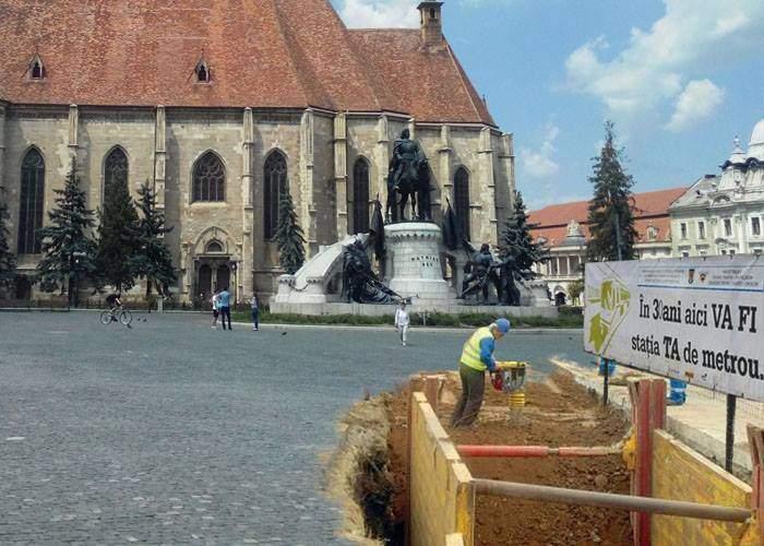 Lovitură pentru București! După meciul cu Spania, și metroul din Drumul Taberei va fi mutat la Cluj