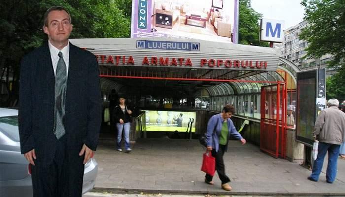 Ar vrea şi el! Un om din Drumul Taberei se duce zilnic la staţia de metrou Lujerului şi oftează