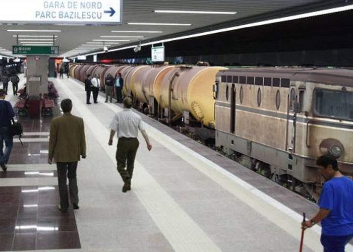Pentru a reduce pierderile, Metrorex va introduce trenuri de marfă pe liniile sale