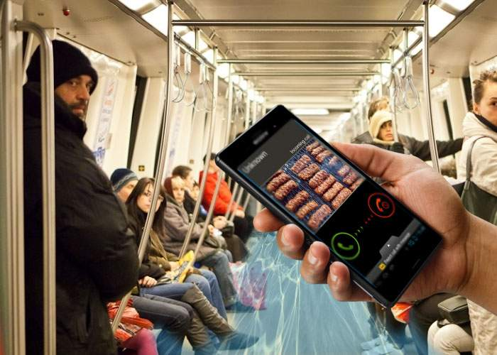 Metrou inundat cu bale după ce un călător şi-a pus ca sonerie la telefon un sfârâit de mici