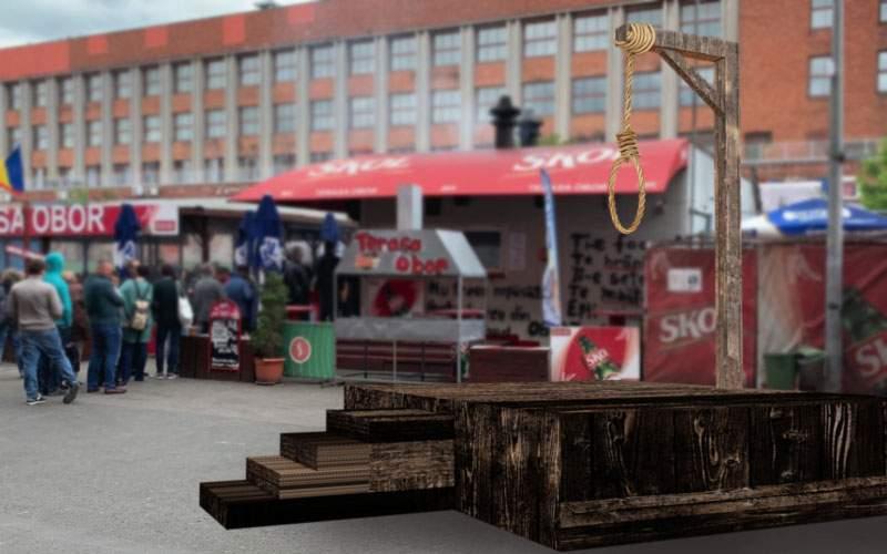 Execuţie publică! Inventatorul micilor vegani va fi linşat la ora 17 în Piaţa Obor