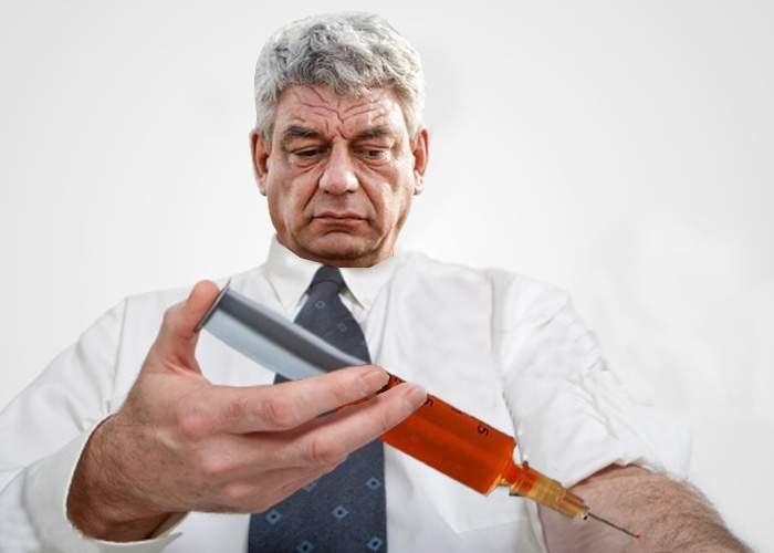 """Mihai Tudose insistă că el nu bea: """"Păi ce, îs prost? Eu îmi injectez alcoolul direct în venă, nu îl beau!"""""""
