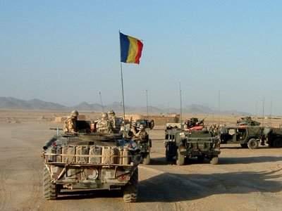 Militarii români din Afganistan au întors armele