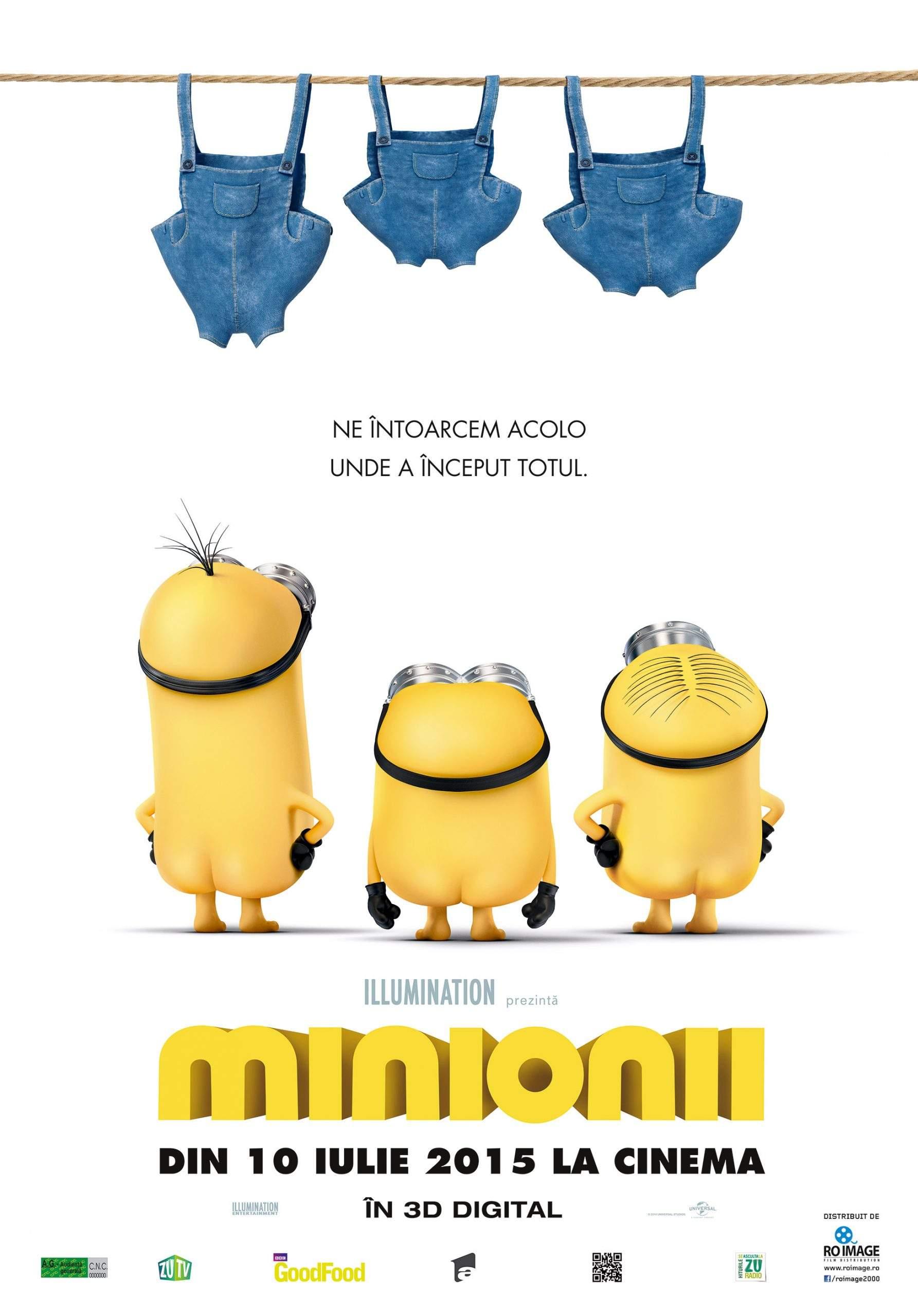 Minions 3D (2015) – Fericirea are chipul rău