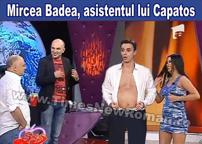 Mircea Badea va fi asistentul lui Dan Capatos