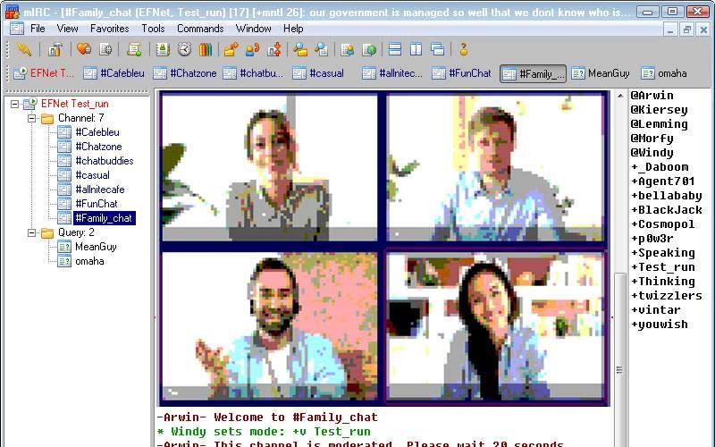 Zoom, Whatsapp şi Messenger, îngropate! Se lansează mIRC Video