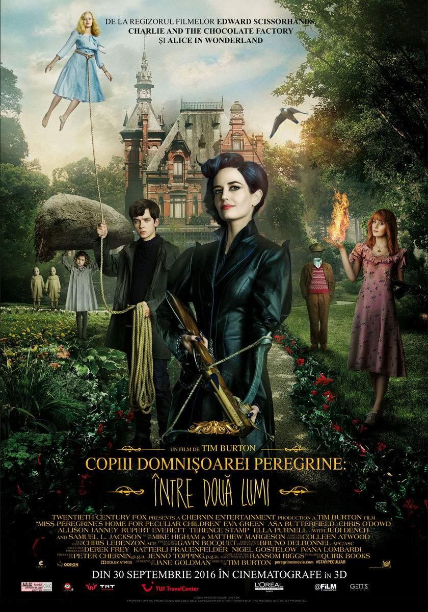 Miss Peregrine's Home for Peculiar Children (2016) – O lume minunată, în care veți păți…