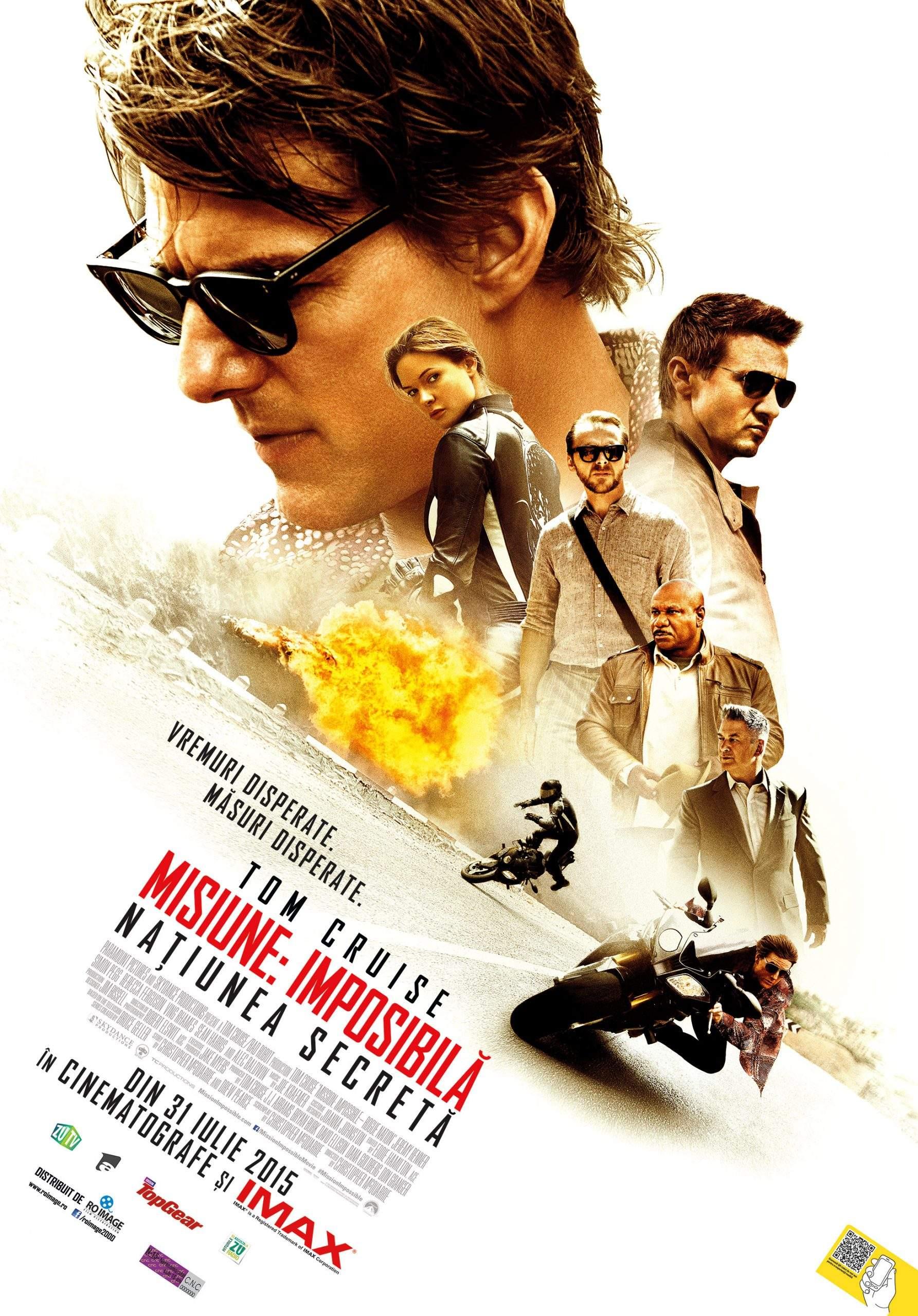Mission Impossible: Rogue Nation (2015) – Hunt, ți-ai tras, în sfârșit, un Moriarty al tău?