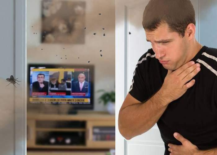 Un român a uitat televizorul deschis pe RTV și când s-a întors era un miros pestilențial în toată casa