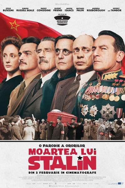 The Death of Stalin (2017) – Râdem, noi, râdem, dar…