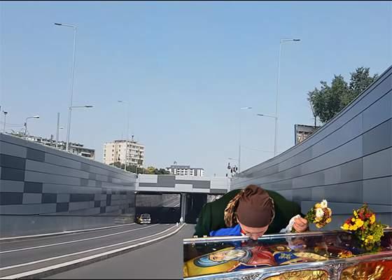 Incompetență! Inaugurarea pasajului Piața Sudului trebuie repetată pentru că nu s-au adus moaște