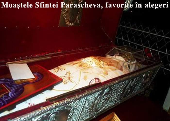 Sondaj! Dacă duminică ar fi alegeri, moaştele Sfintei Parascheva ar câştiga detaşat