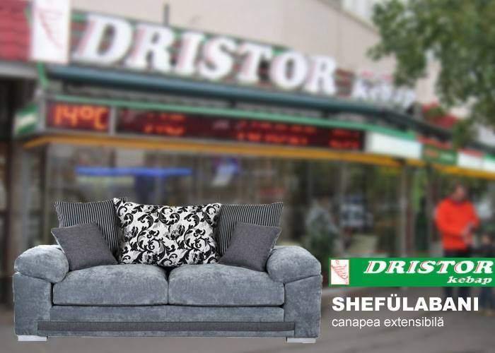 După modelul Ikea, şi alte şaormării din Bucureşti au început să vândă mobilă