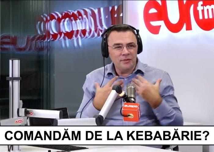 Dezbaterea EuropaFM! Moise Guran a discutat cu ascultătorii de unde să-și comande mâncare
