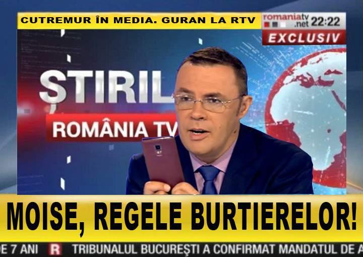 După ce-a dat alerta de cutremur de 10 grade, Moise Guran a fost promovat: acum scrie burtiere la RTV